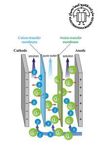 نقش غشای نفیون در فرآیند الکترودیالیز